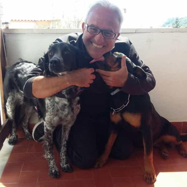Fulvio Guida e i suoi cani