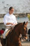 Rudi Bellini a cavallo