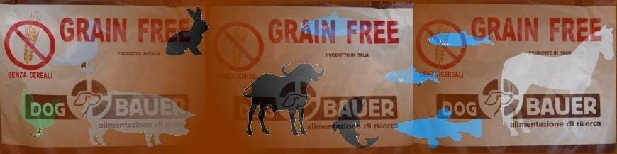 Cibo Per Cani Grain Free Senza Cereali  Dog Bauer immagine di categoria